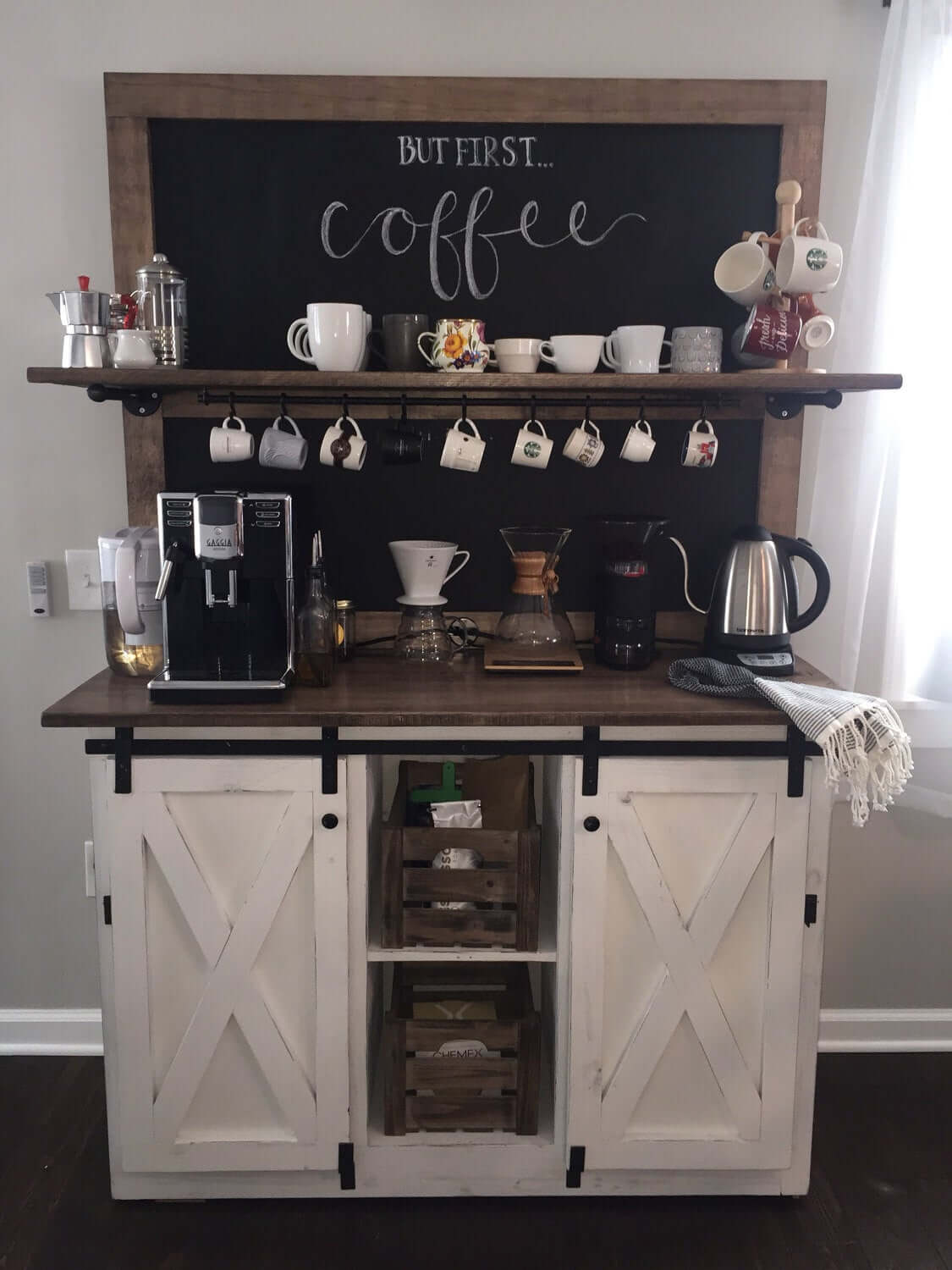 Farm House Blackboard Coffee Delight