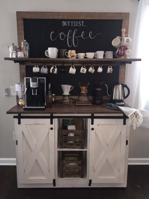 Farm House Blackboard Coffee Delight