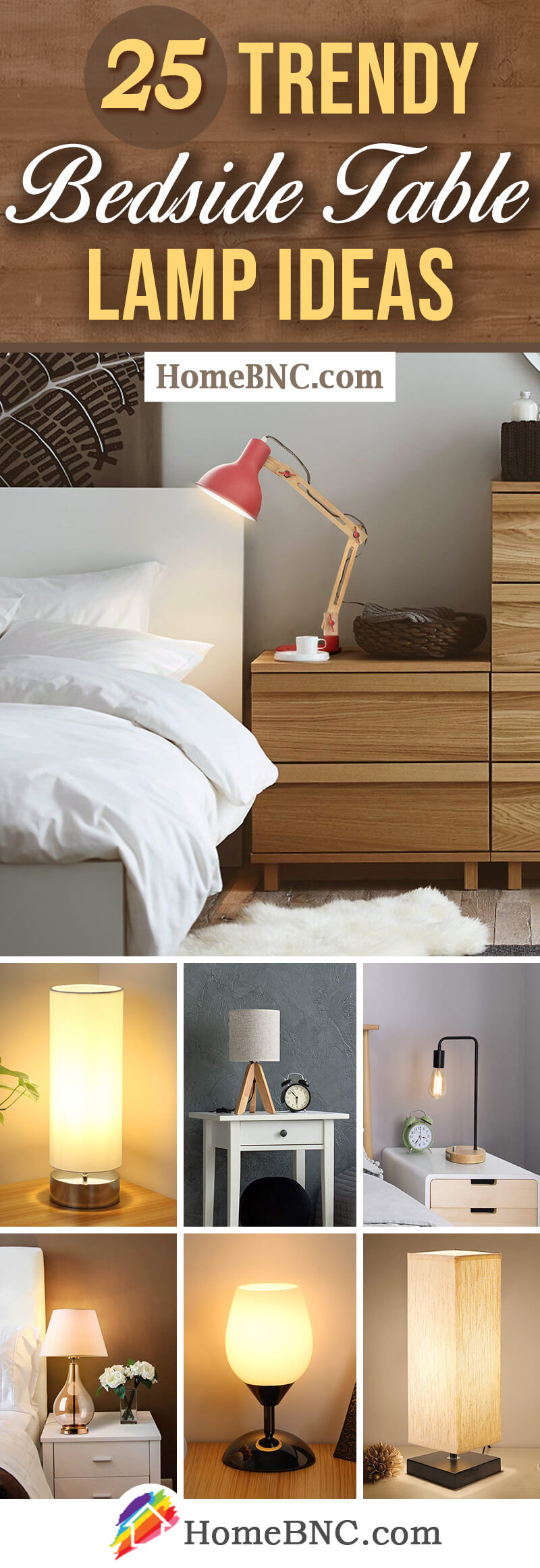 Picture of: 25 Best Bedside Table Lamps To Light Up Your Evenings In 2020