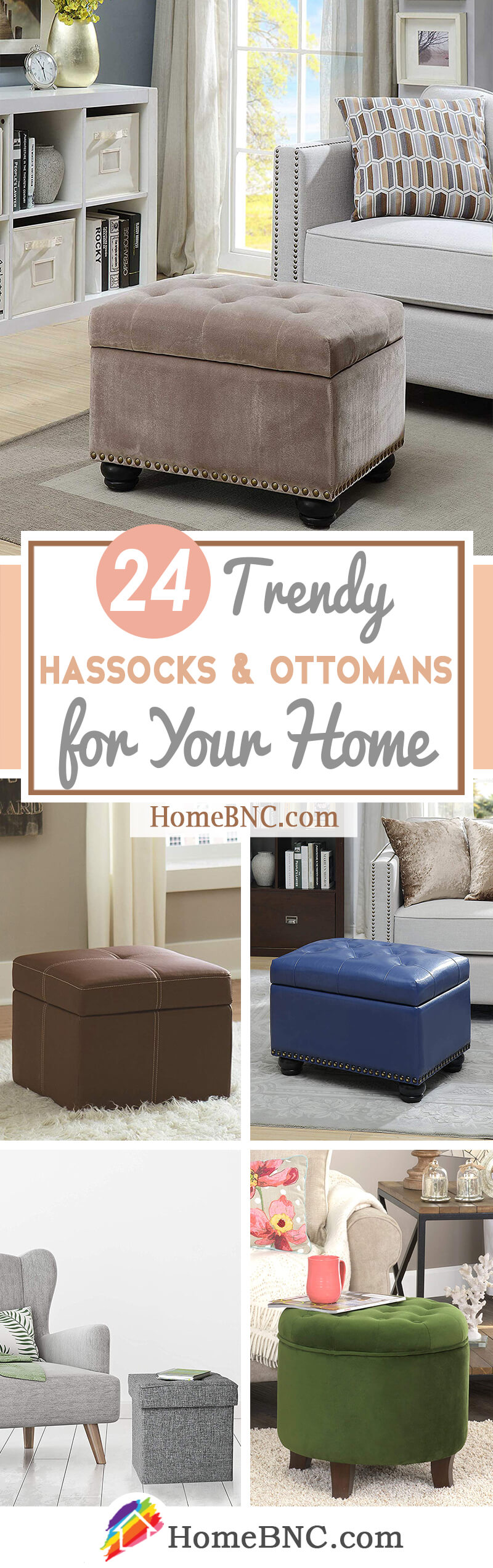 Best Hassocks and Ottomans
