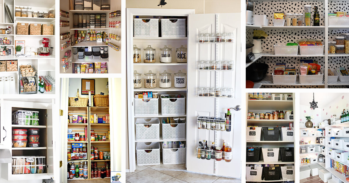 24 Best Pantry Shelving Ideas and Designs for 2019 Ideas For Organizing Your Kitchen on design your apartment kitchen, organizing a small apartment kitchen, organize your kitchen, organized kitchen, organizing bottom cabinets kitchen, organizing the kitchen, ideas for menu planning, food storage in tiny kitchen,