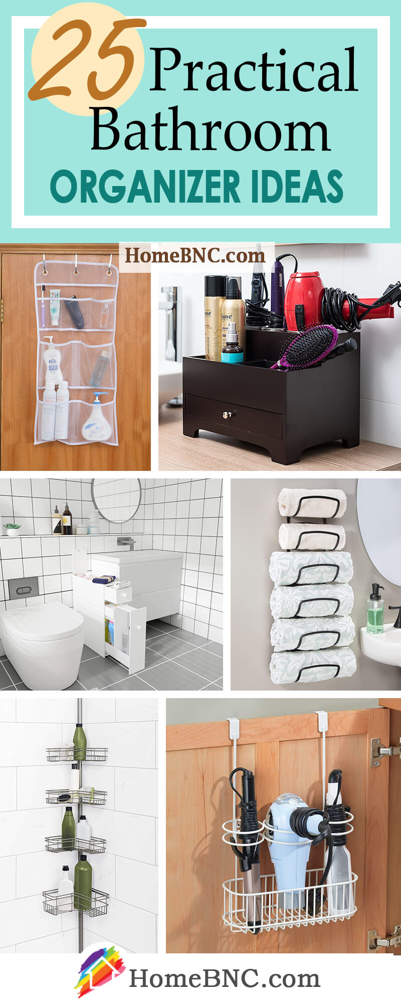Best Bathroom Organizer Ideas