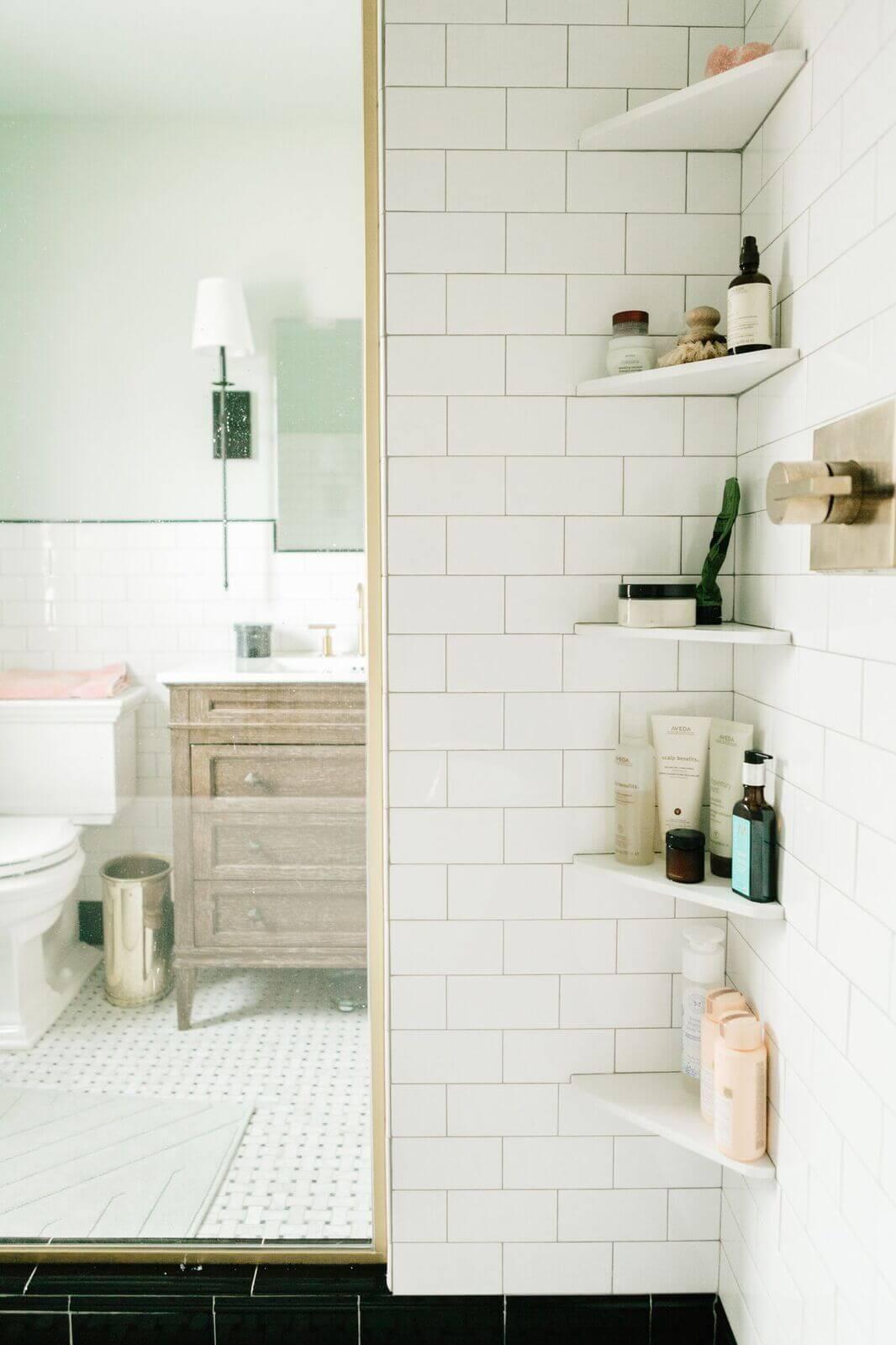 26 Best Shower Storage Ideas to Improve your Bathroom in 2020