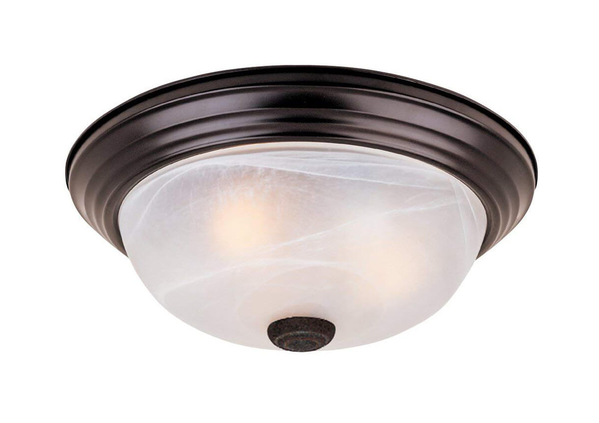 Frosted Multi-Bulb Ceiling Sconce