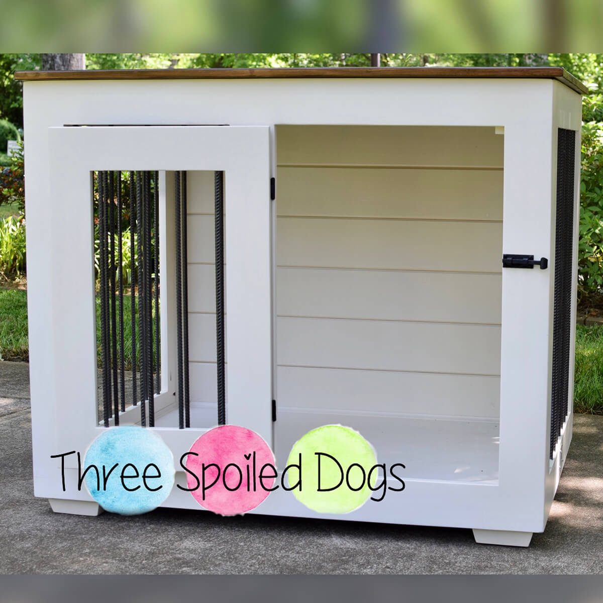 Super Cool Outdoor Dog Kennel