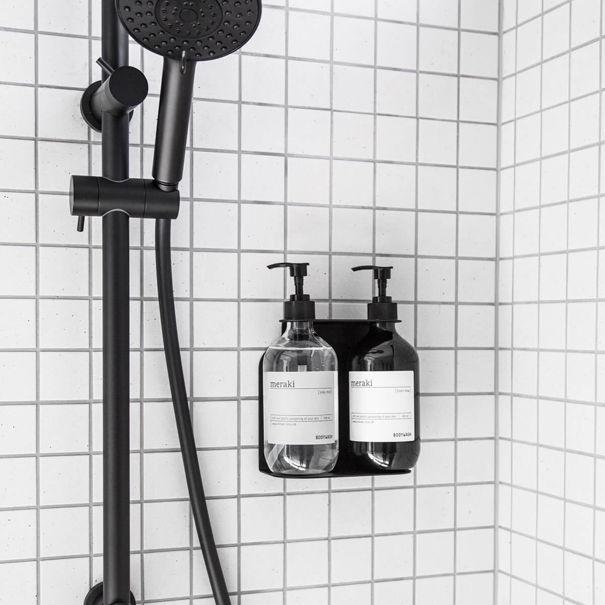 Soap and Shampoo Dispenser Holder