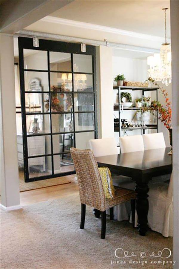 Sliding Farmhouse Door Room Divider