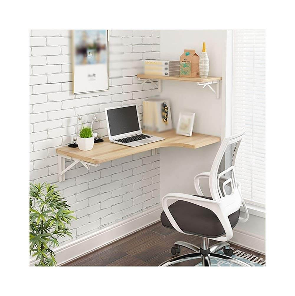 L-Shaped Corner Wall Desk Ideas