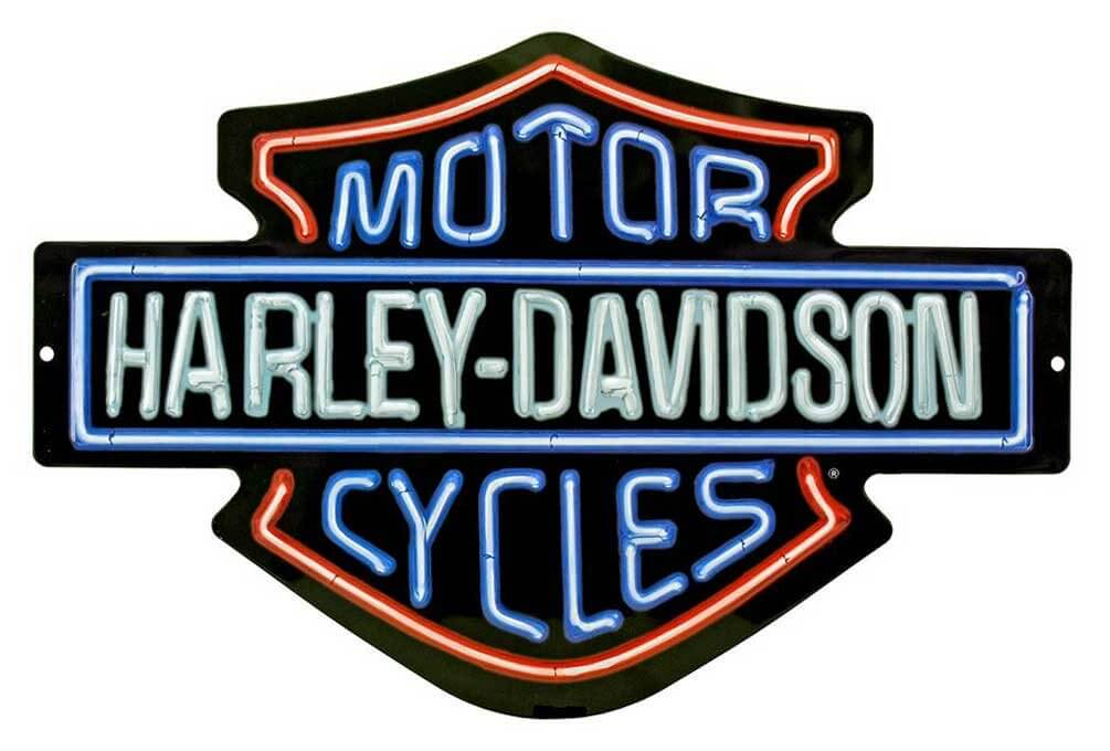 Harley-Davidson Shield Man Cave Sign
