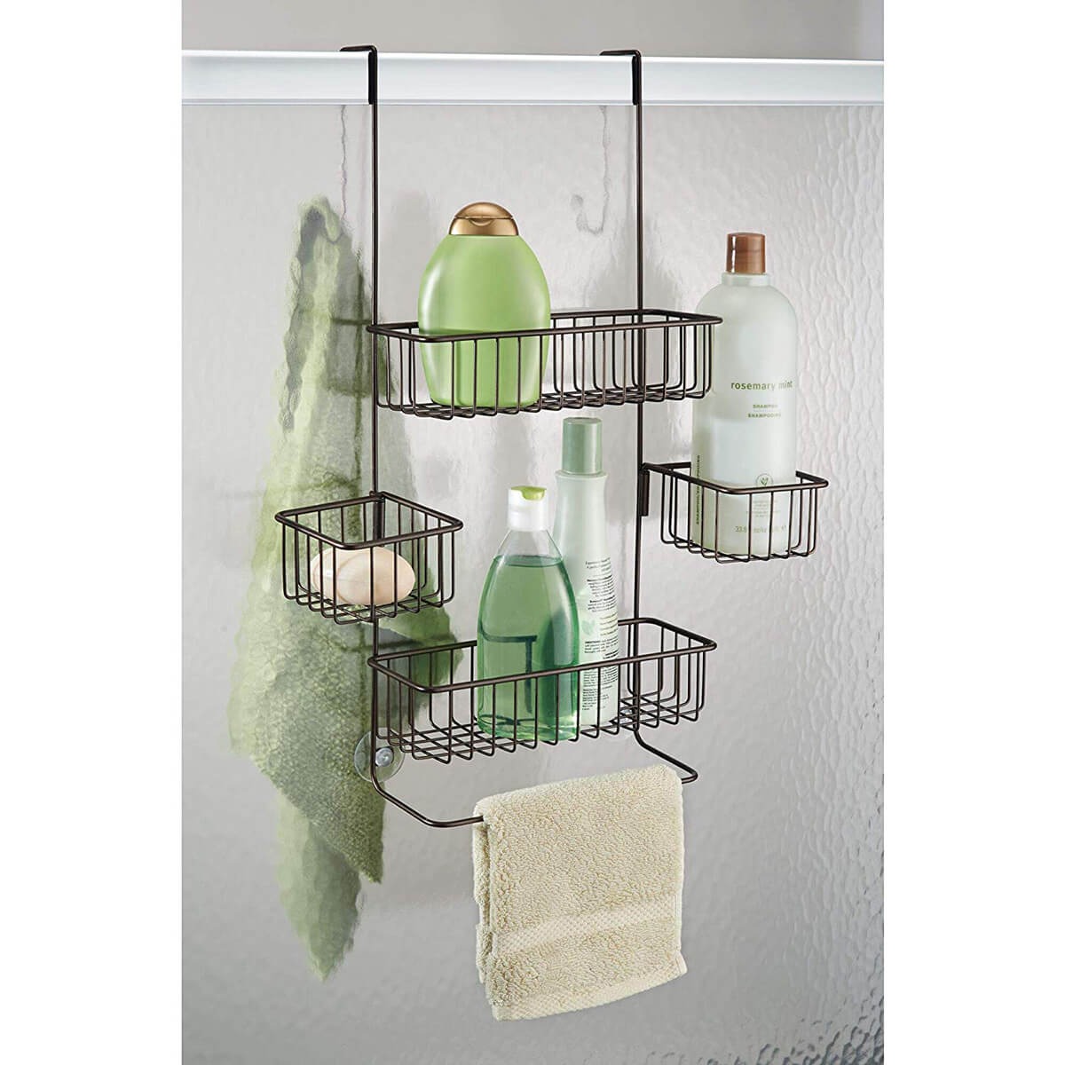 Over-the-Door Multi-Basket Caddy