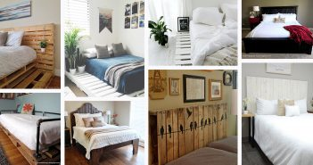 DIY pallet bed frames