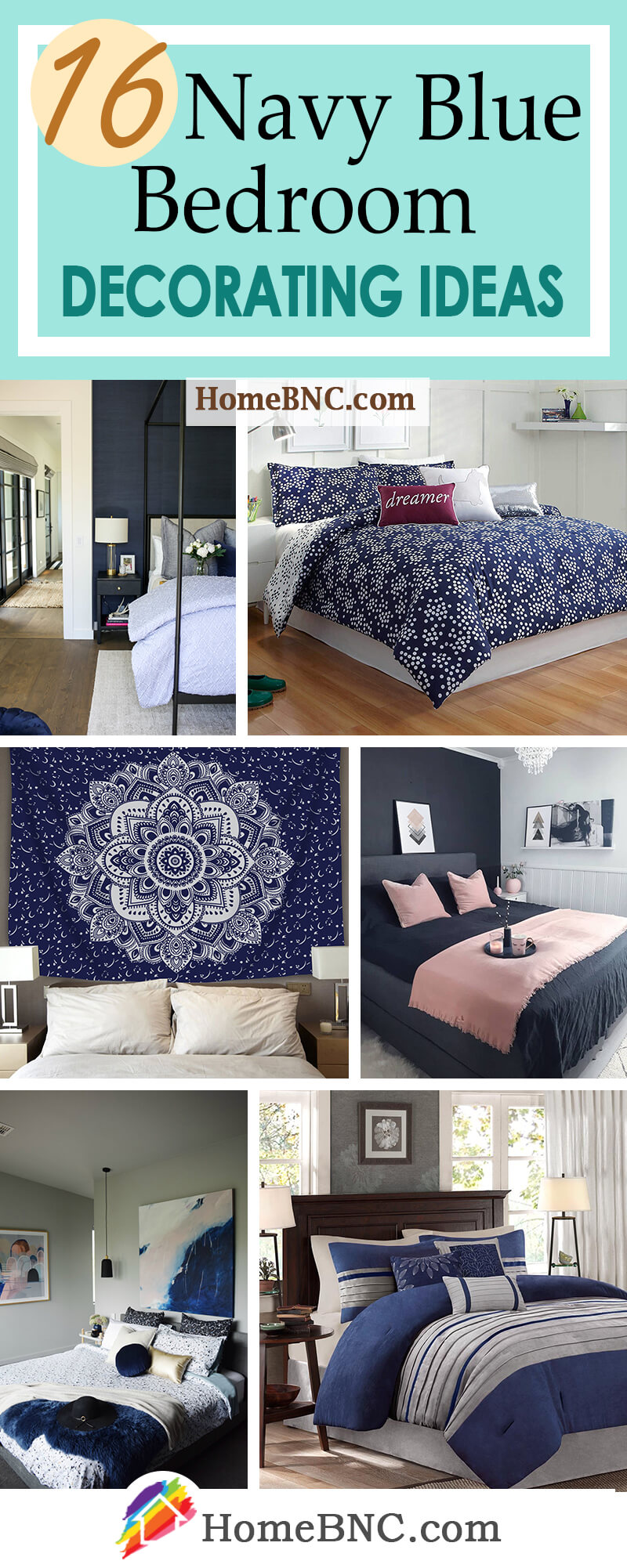 11 Best Navy Blue Bedroom Decor Ideas for a Timeless Makeover in 11