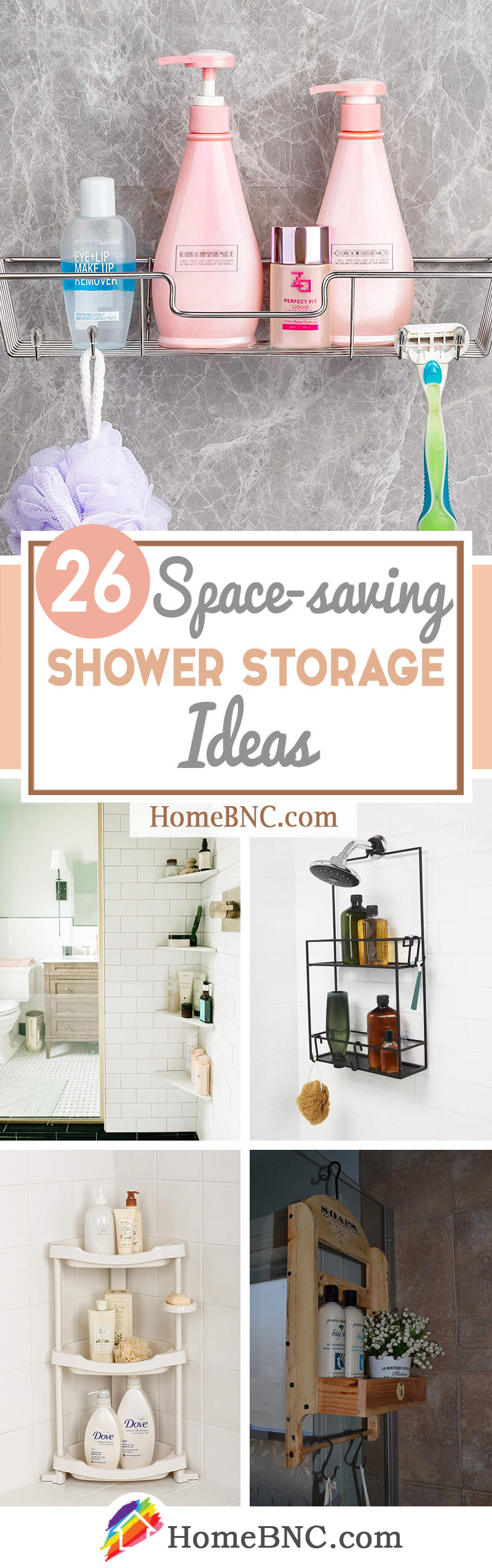 Shower Storage Ideas