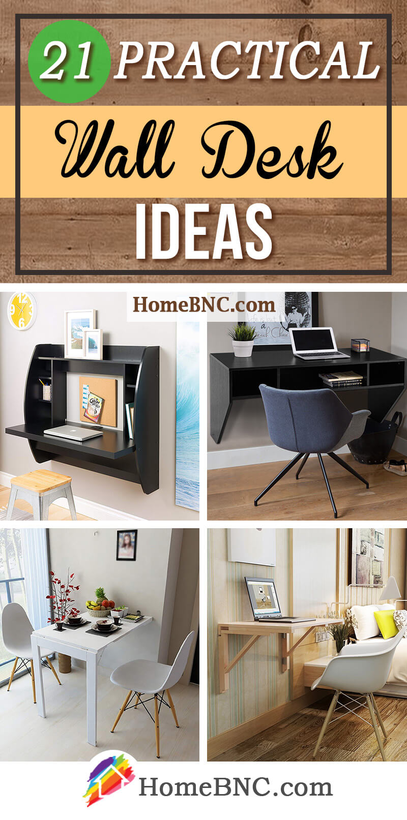 21 Best Wall Desk Ideas For Serious Space Saving In 2021
