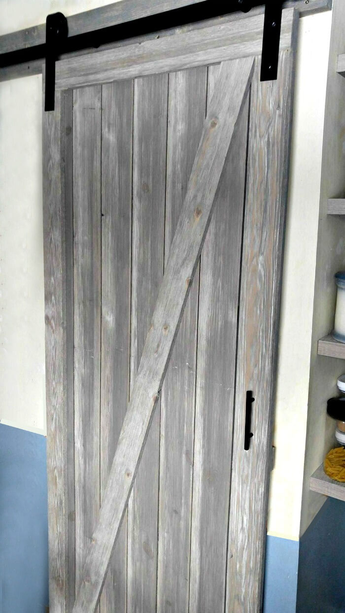 The Beautiful Sliding Barn Door
