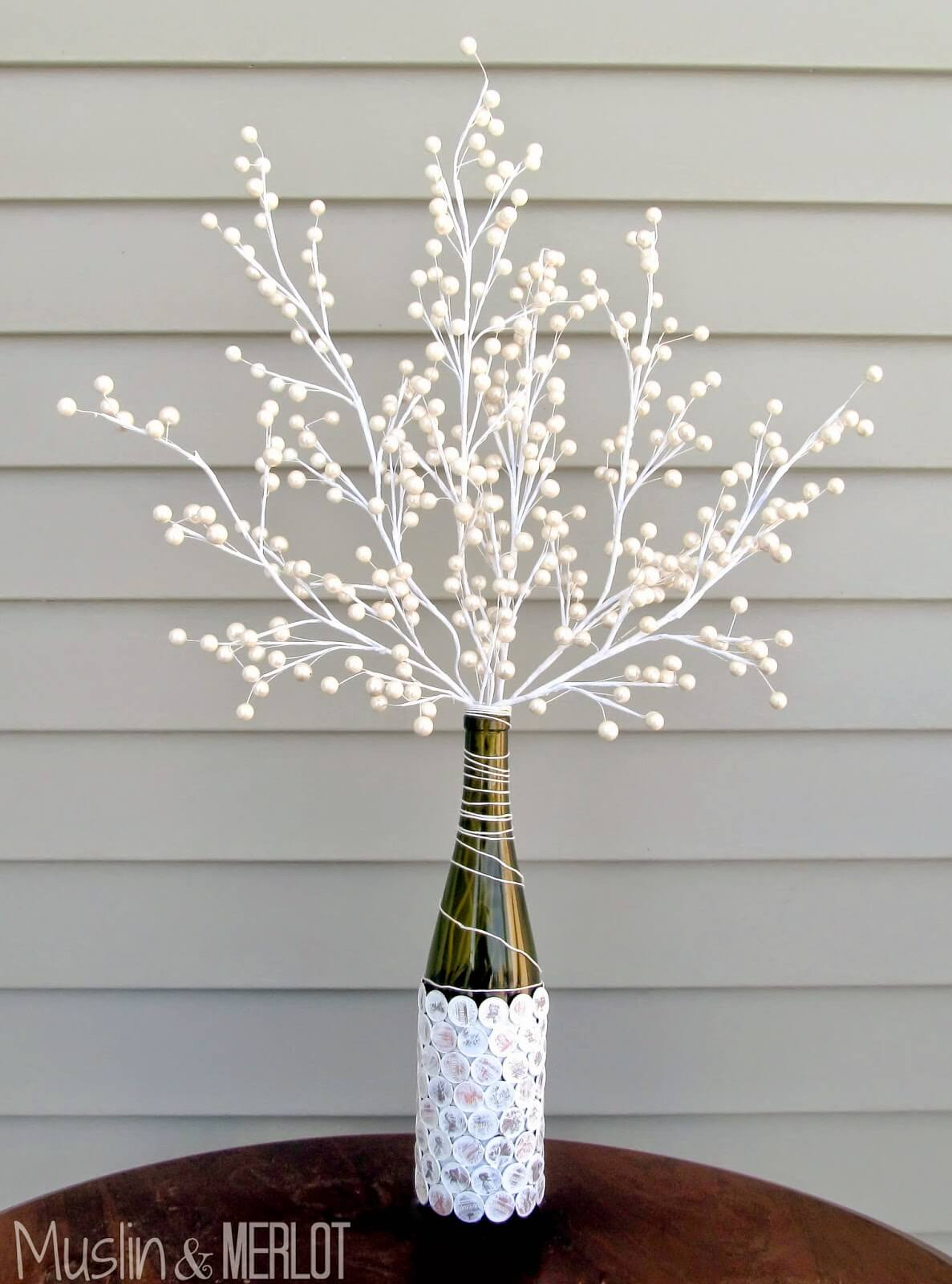 A Gorgeous Vase with a Tree Branch Bouquet