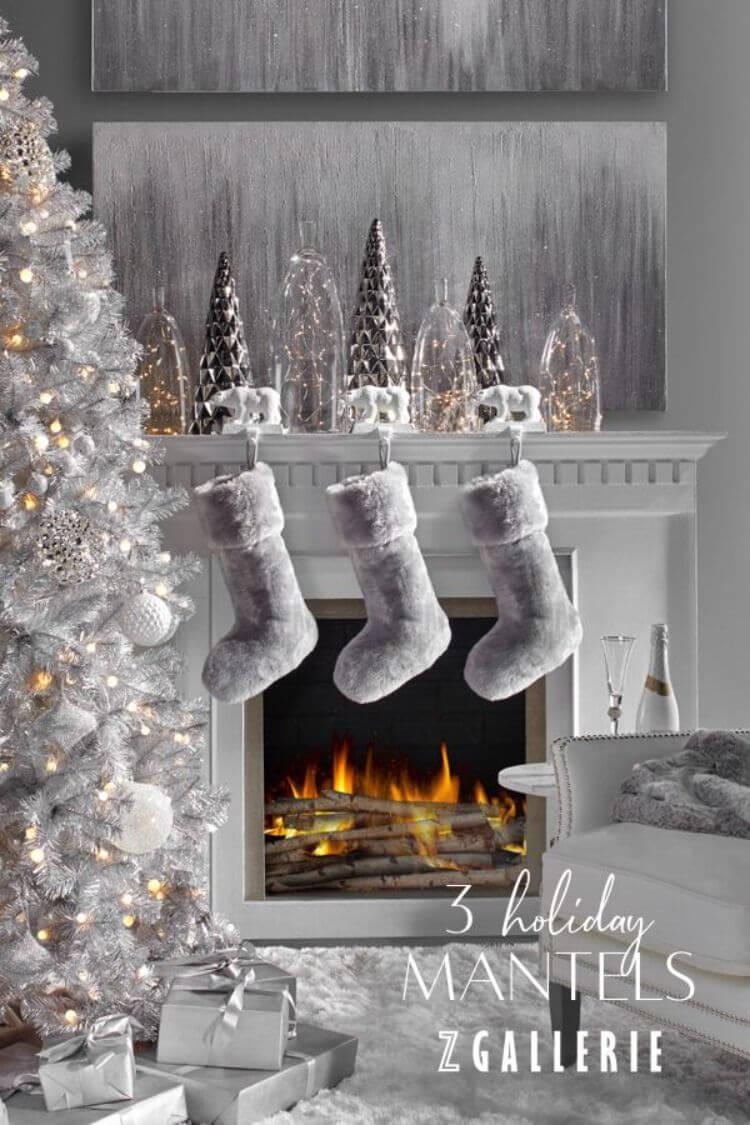 Soft Plush Hanging Christmas Stockings
