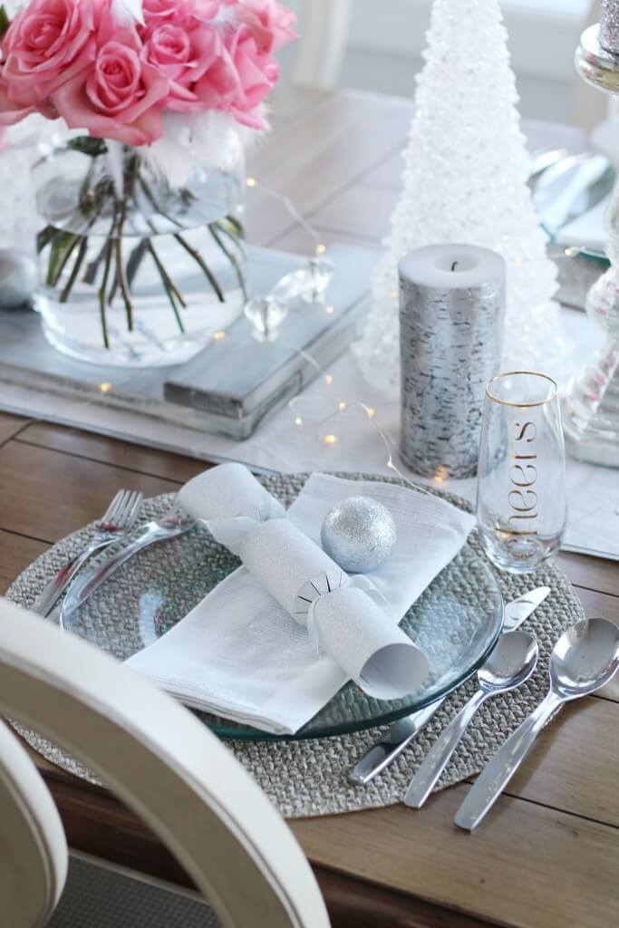 Tabletop Decor and Silverware Set