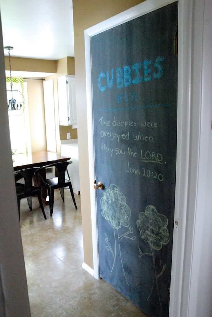 Turn the Pantry Door into an Art Space