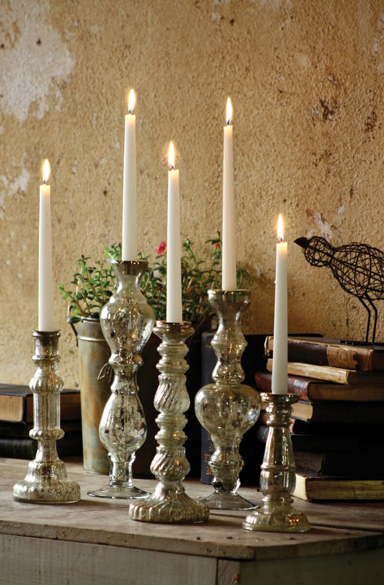 Classic Look Holders for Taper Candles