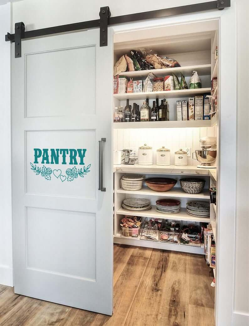 Is There a Pantry or a Room Behind This Door?