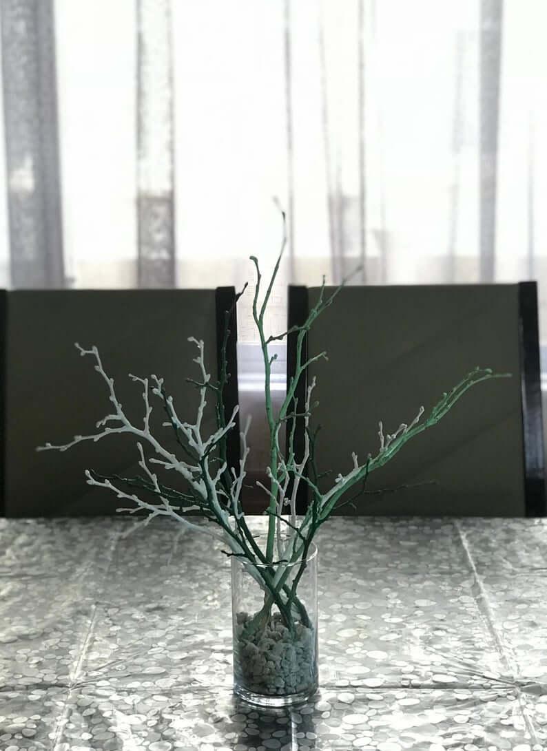 Sea Art Mossy Branch Centerpiece Arrangement