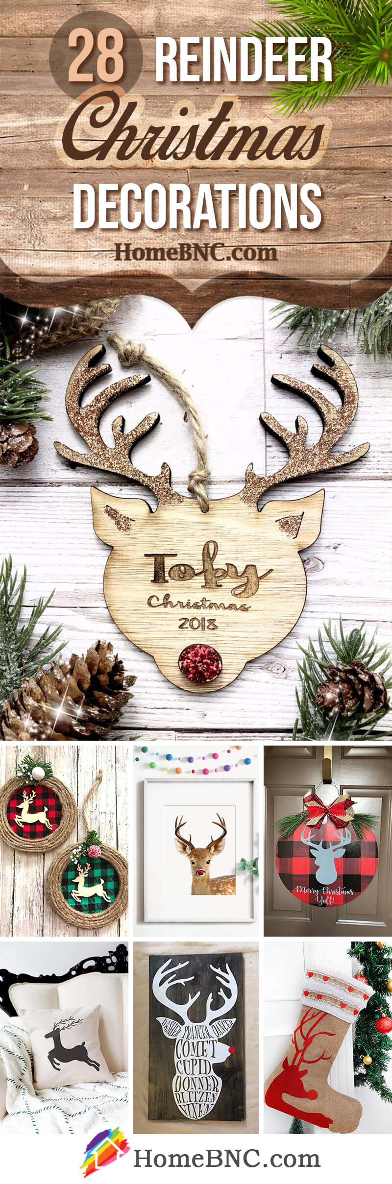 28 Best Christmas Reindeer Decoration Ideas For 2020