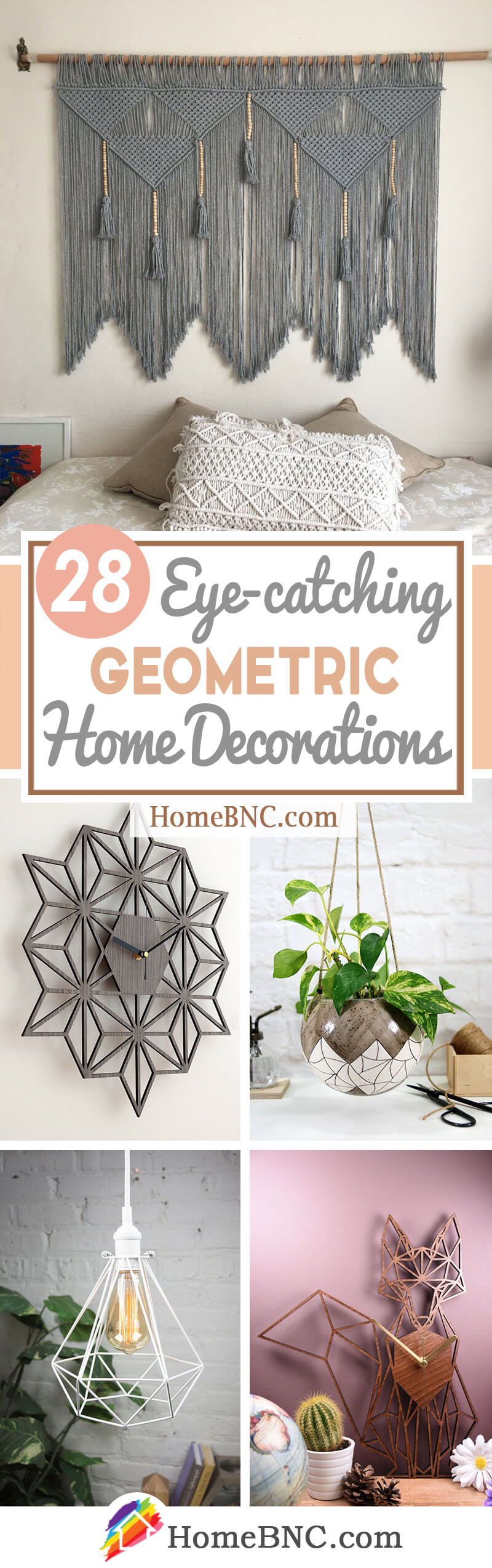 Creative Geometric Home Decor Ideas