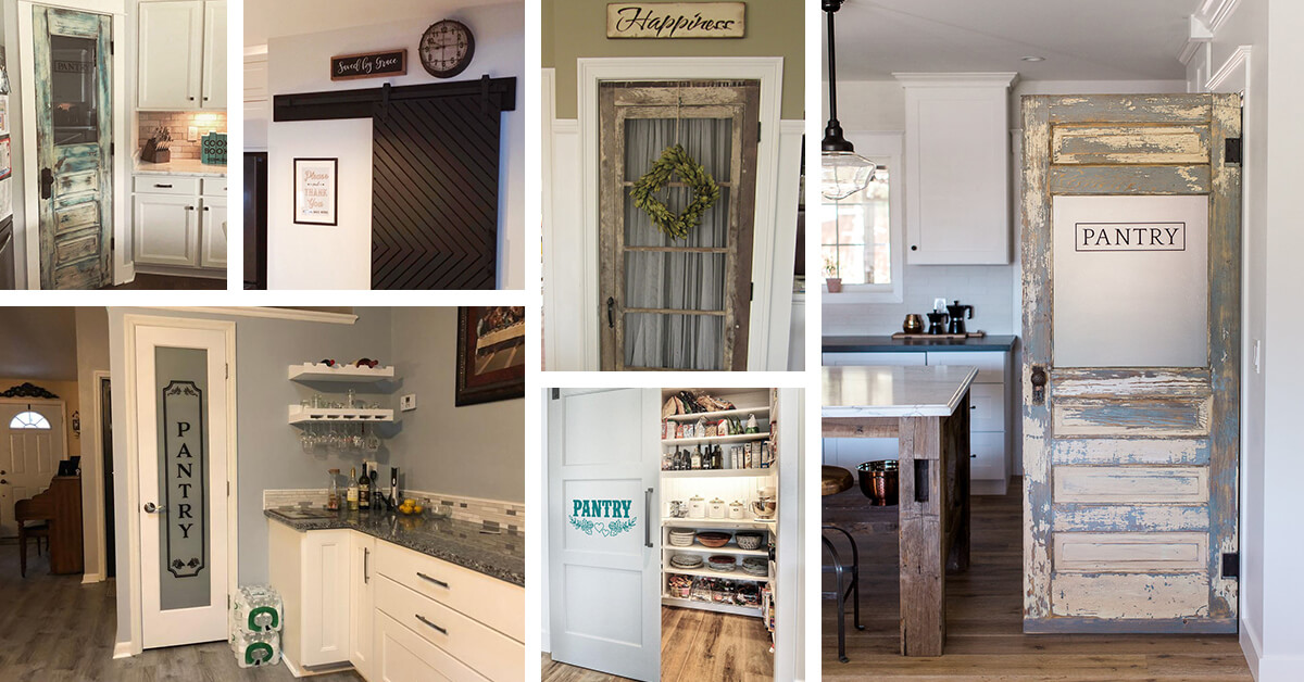 23 Best Pantry Door Ideas That Are Exciting In 2021