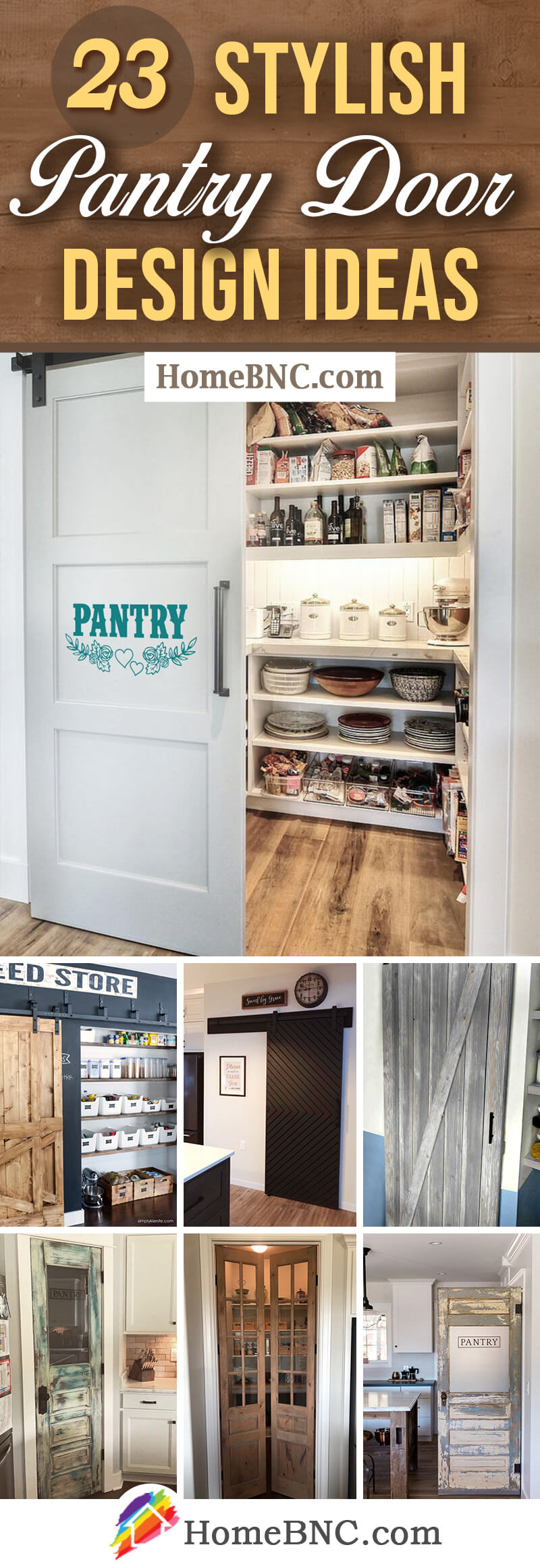 23 Best Pantry Door Ideas That Are