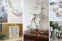 Silver Christmas Decor Ideas