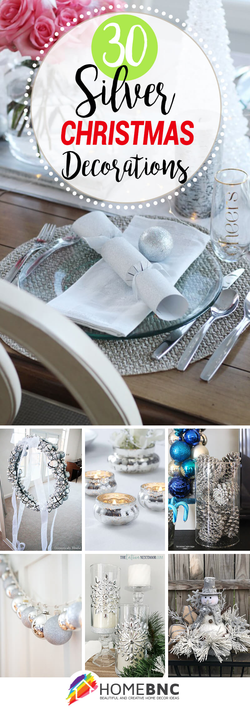 Best Silver Christmas Decorations