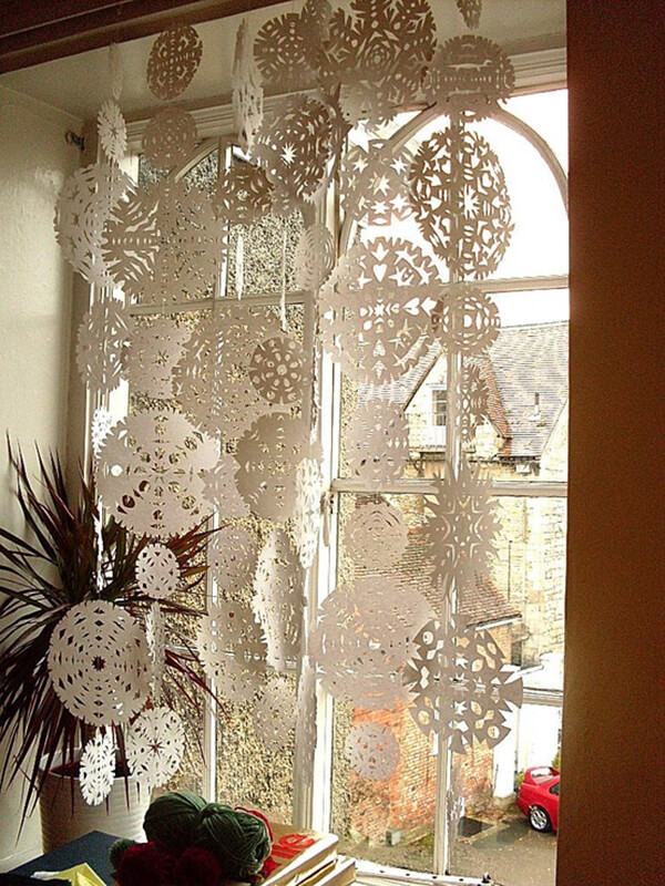 Let It Snow Indoors Home Decor