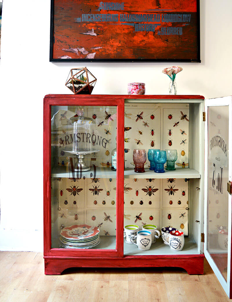 Upcycling an Old Cabinet with Chalk Paint