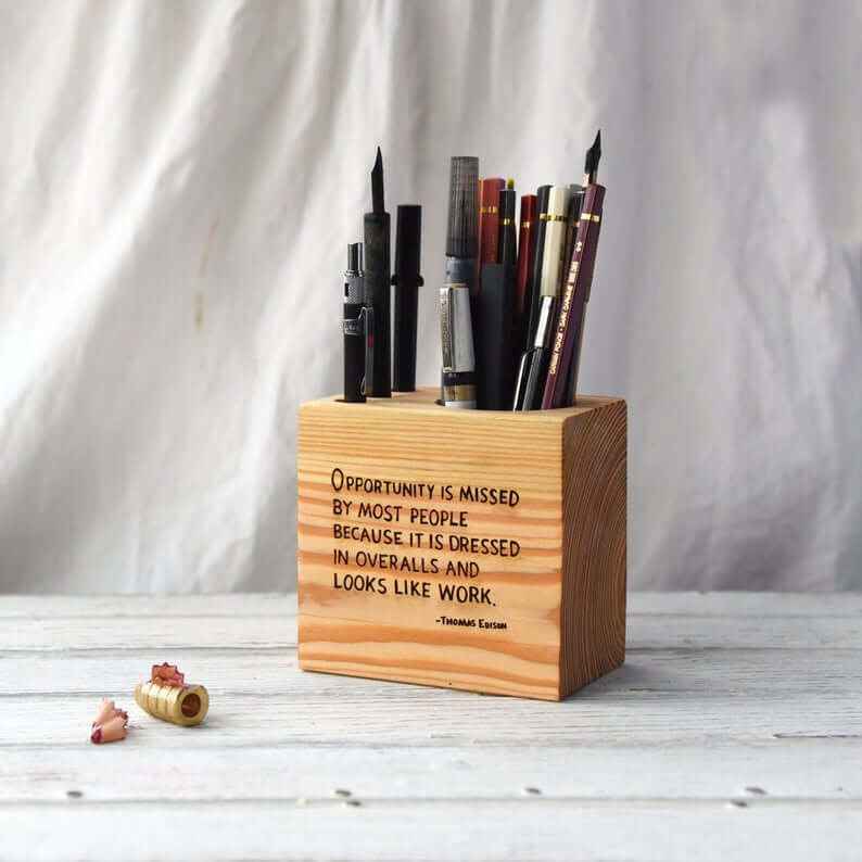 Efficient and Inspiring Pencil Holder