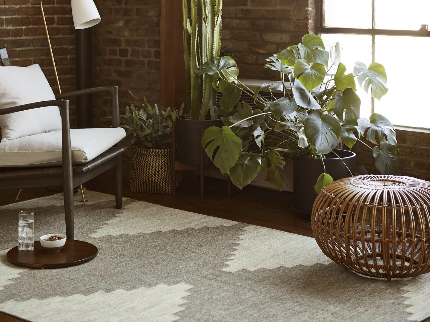 Deep Colors, Natural Textures, and Plenty of Plants