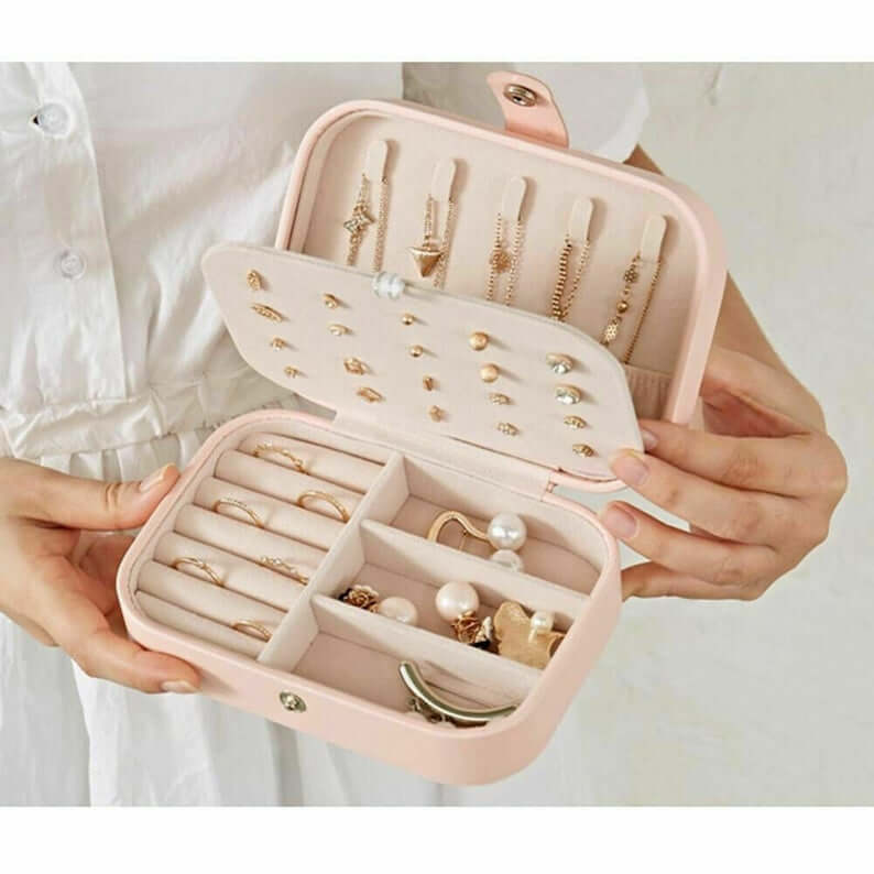 Gorgeous Jewelry Travel Box with Personalization