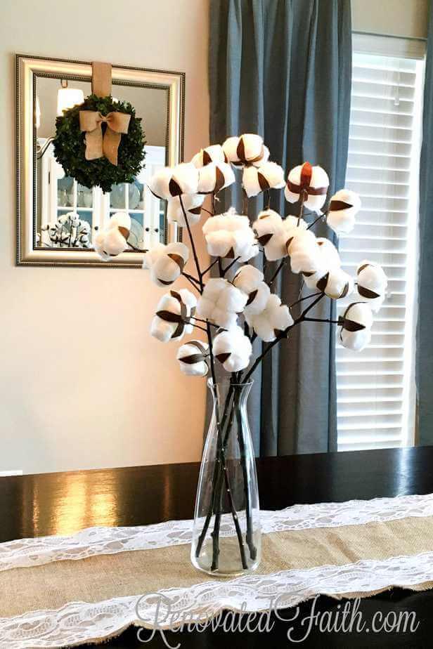 Surprising Bouquet of Cotton Blossoms