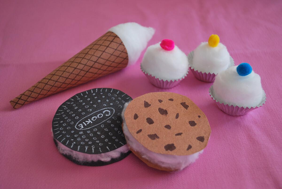 Perfect-Looking Cotton Dessert Treats