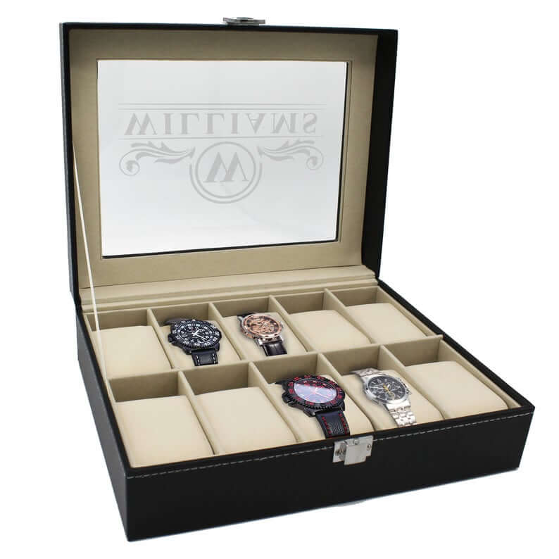 Unique Watch Case with Engraving