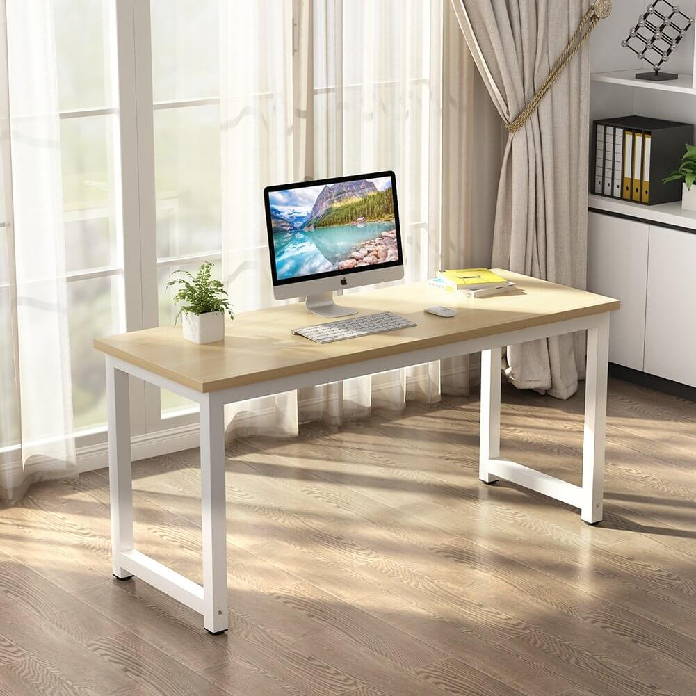 Minimal and Large Office Desk