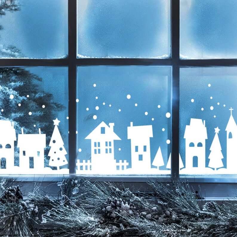Snow-Covered Town of Bethlehem