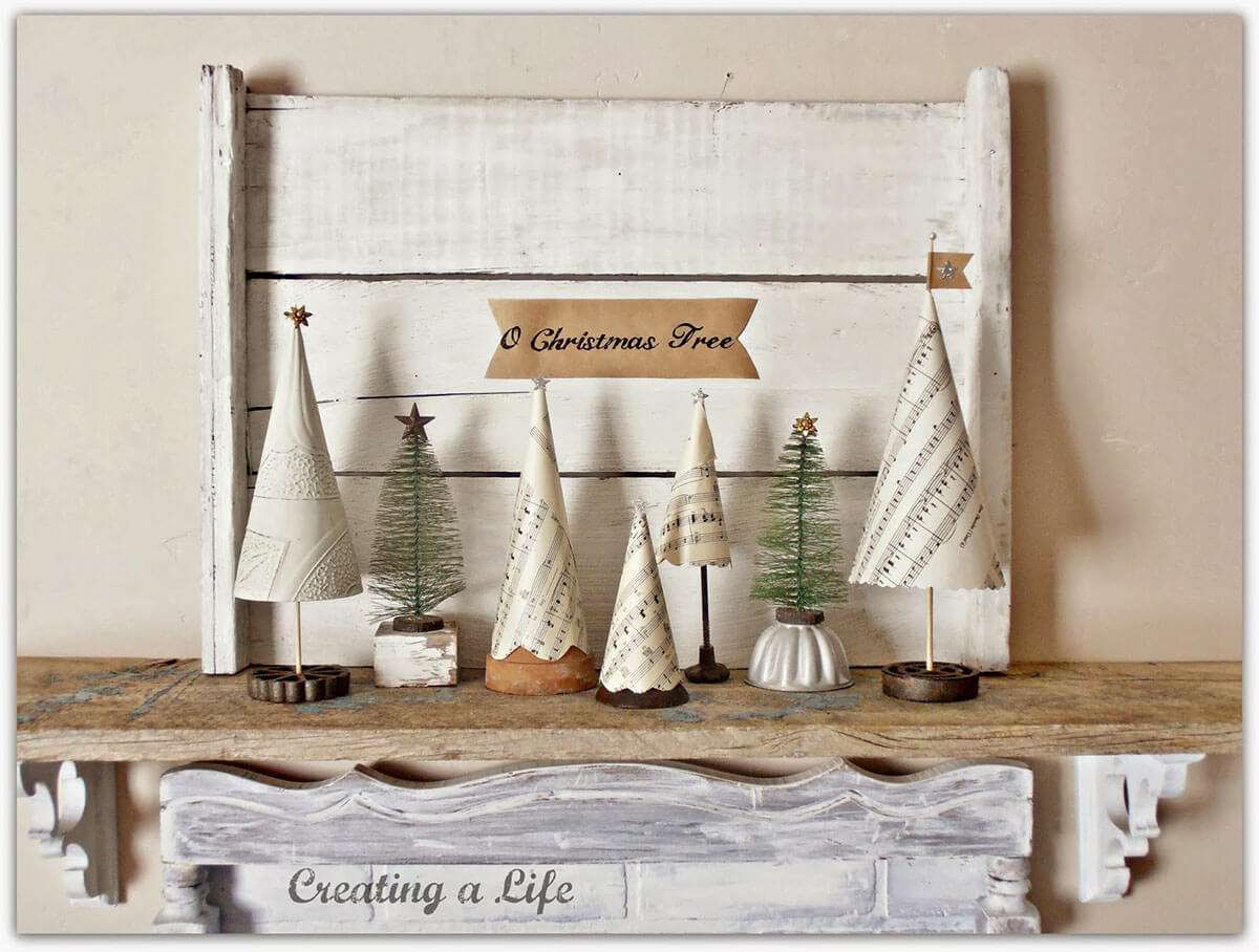 Paper Tree Vintage Decor Ideas