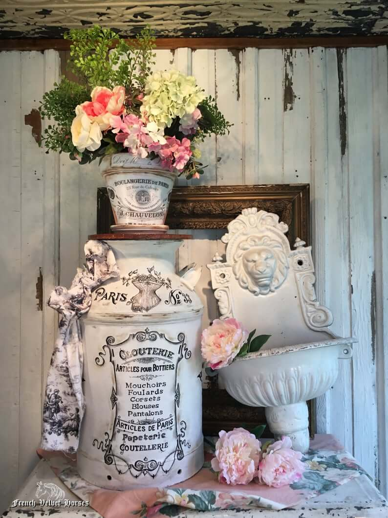 Awesome Idea for French Farmhouse Home Decor