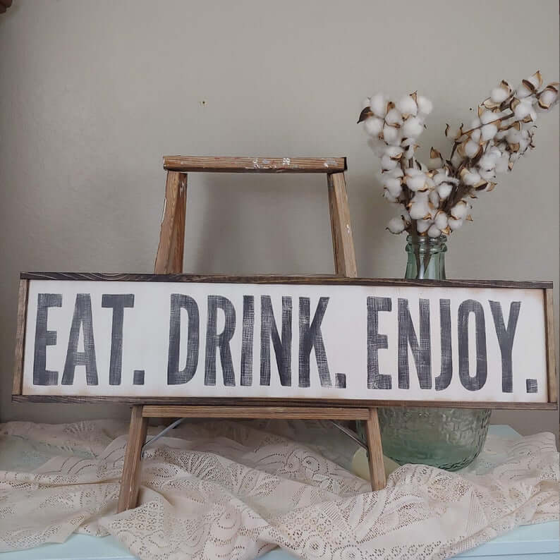 Eat. Drink. Enjoy.