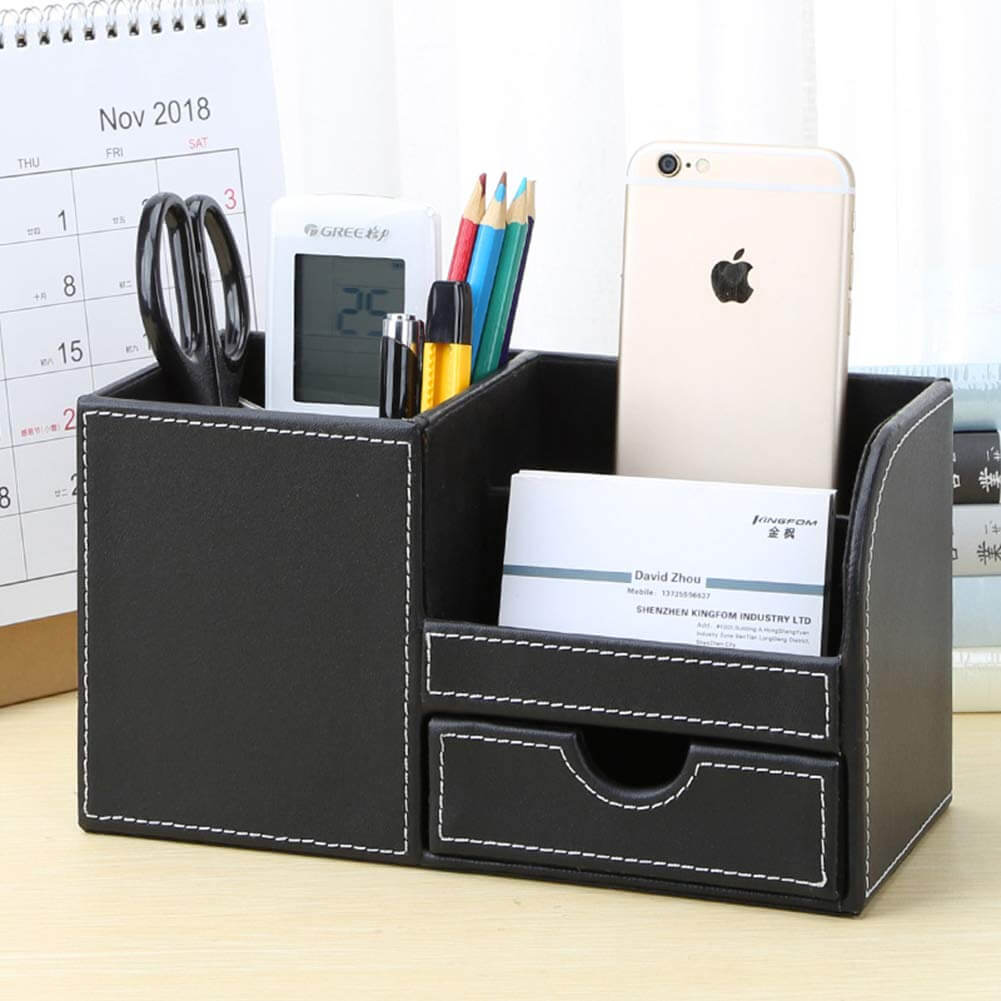 Small and Professional Multi-Function Desk Organizer
