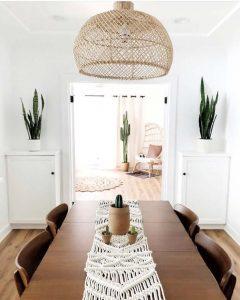 Desert Oasis Open Dining Room Design