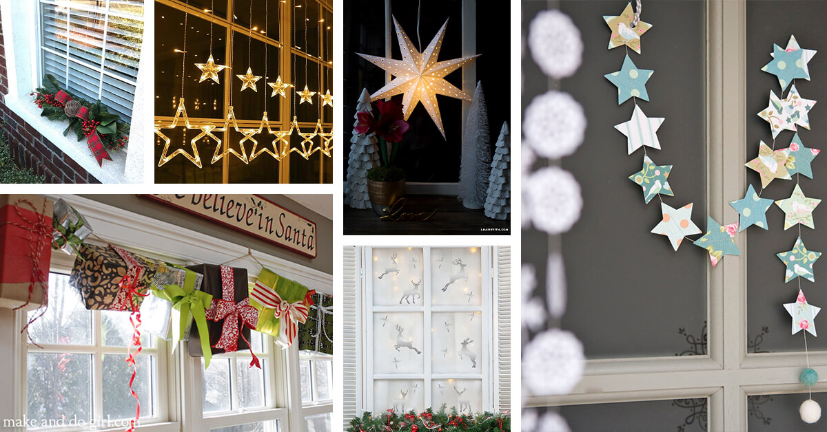 Best Christmas Decorations 2021 Bay Area 17 Best Christmas Window Decoration Ideas To Inspire You In 2021