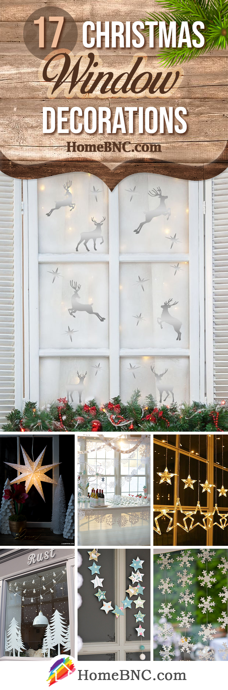 Best Christmas Window Decoration Ideas