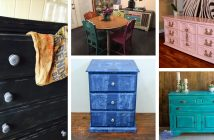 Colorful Painted Furniture Designs